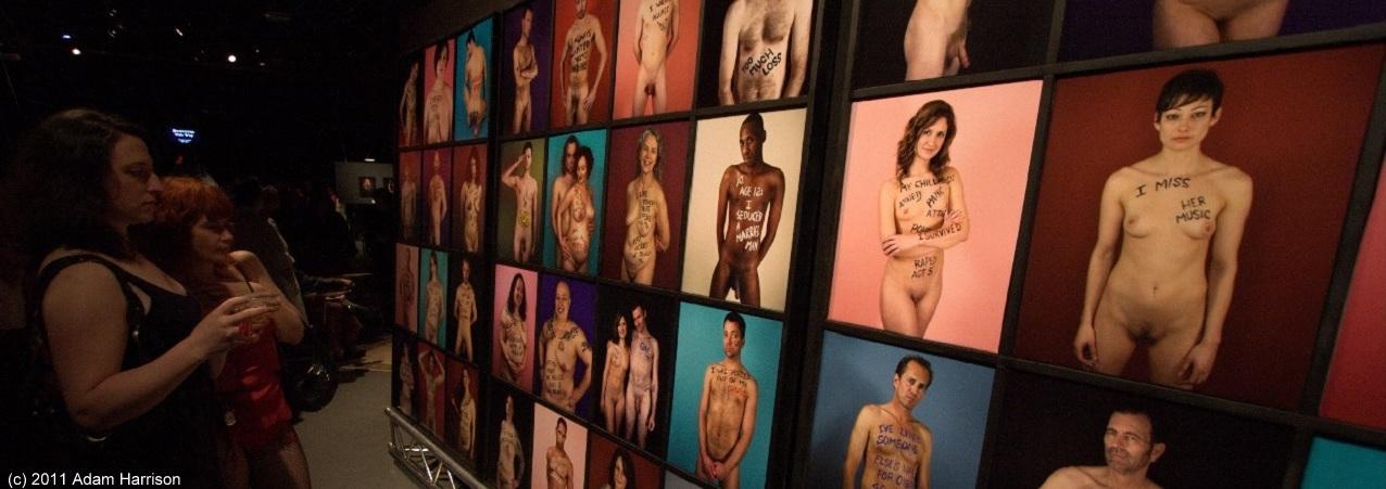 "Jim Wilkinson's ""Naked Truth"" installation, 2011"