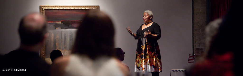 Spoken work performance by Mollena Williams-Haas at 2014 Black Tie Affair.