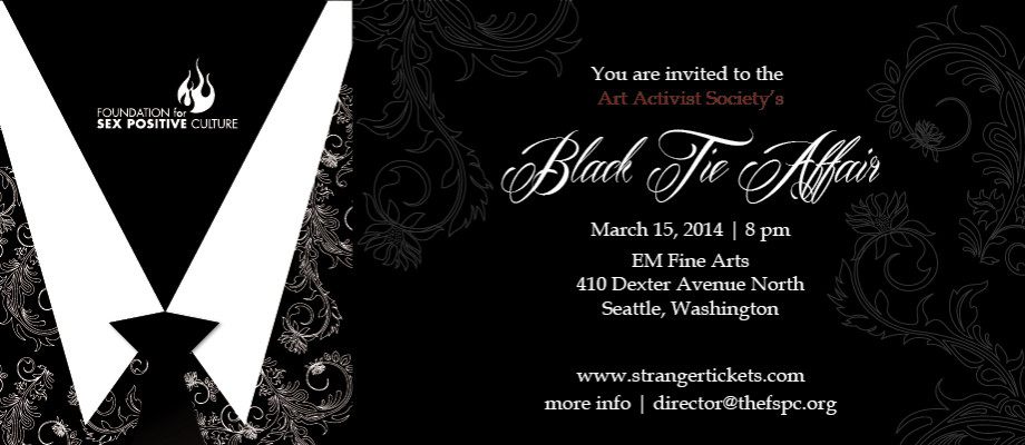 Black Tie Affair 2014 | Foundation for Sex Positive Culture