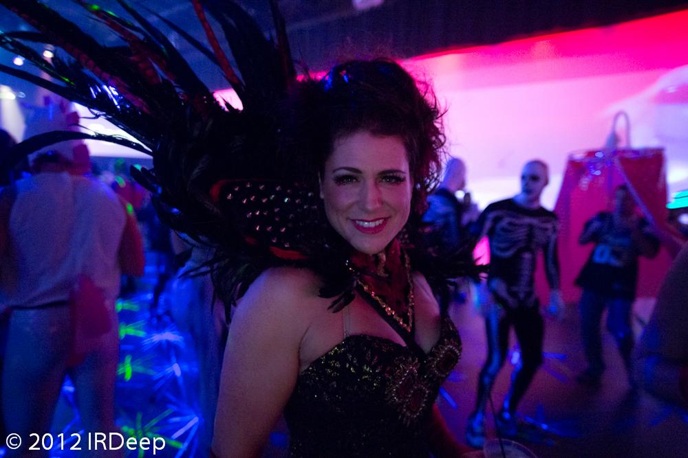 Enjoying the dance floor at Seduction 2012